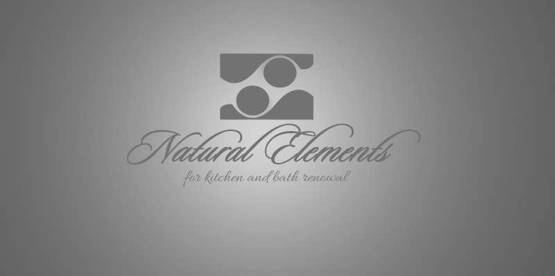 #67 for Design a Logo for Natural Elements for Kitchen and Bath Renewal by PoisonedFlower