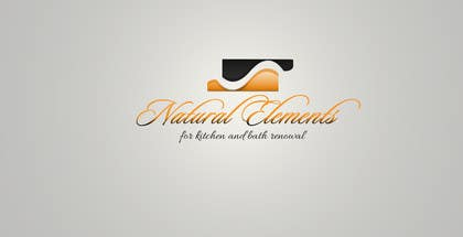 #77 for Design a Logo for Natural Elements for Kitchen and Bath Renewal by PoisonedFlower