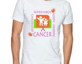 """#33 untuk Design a T-Shirt For """" September Childhood Cancer Awareness Month """" oleh kamel1982"""