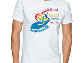 "#45 untuk Design a T-Shirt For "" September Childhood Cancer Awareness Month "" oleh kamel1982"