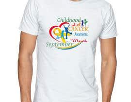 """#47 untuk Design a T-Shirt For """" September Childhood Cancer Awareness Month """" oleh kamel1982"""
