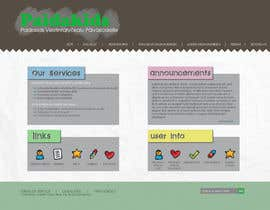 #4 para Graphic Redesign: Front page of web app for nursery schools (PSD) por lataraaa