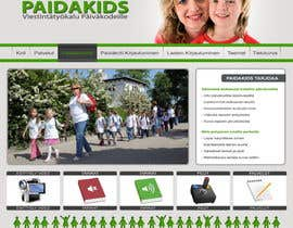 #23 para Graphic Redesign: Front page of web app for nursery schools (PSD) por lamboboy