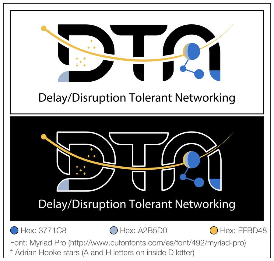 Contest Entry #268 for NASA Challenge: Design a Logo for Delay/Disruption Tolerant Networking (DTN) Project