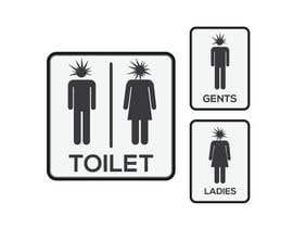 dreamer509 tarafından Design a Logo for man and woman toilet doors için no 17