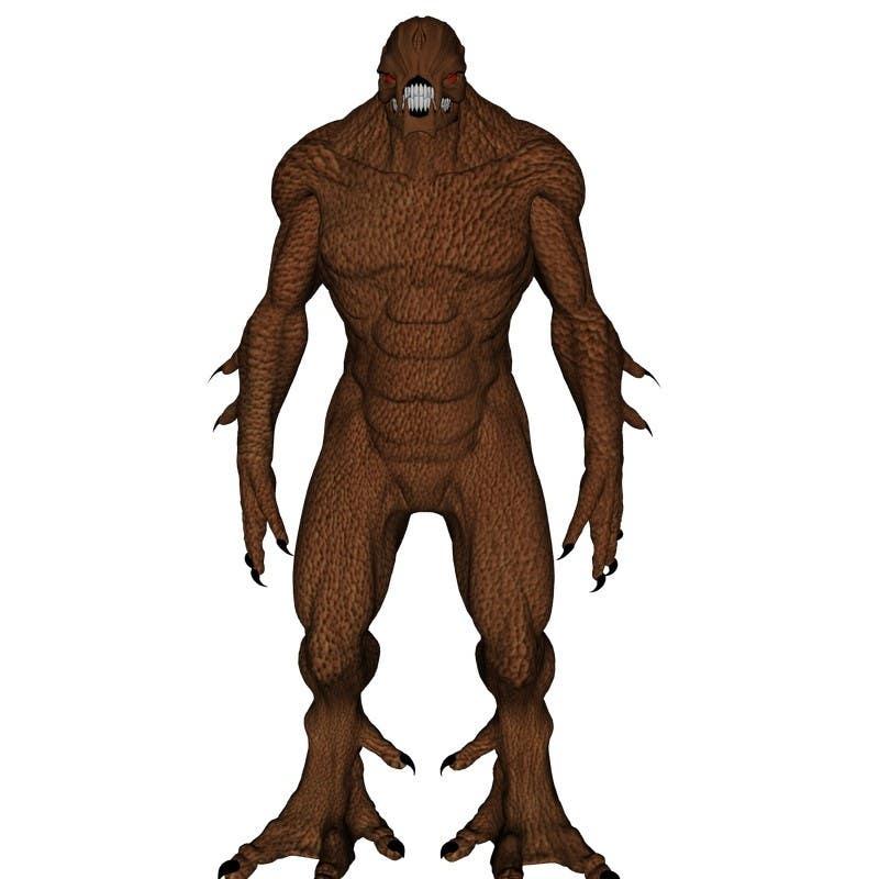Bài tham dự cuộc thi #                                        4                                      cho                                         [3D-Model] Leather Monster