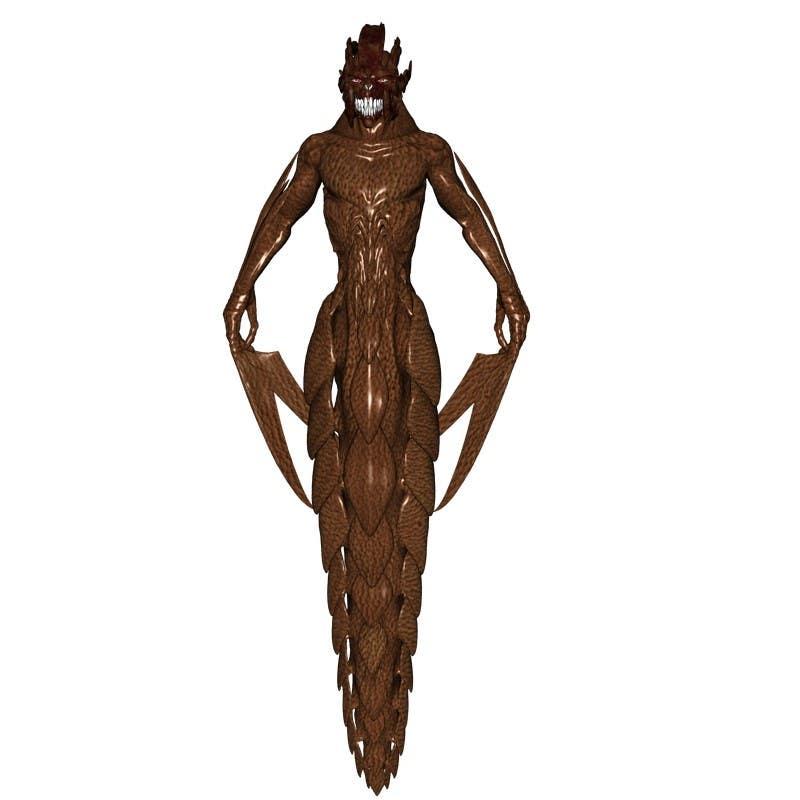 Bài tham dự cuộc thi #                                        5                                      cho                                         [3D-Model] Leather Monster