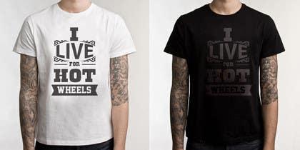 ezaz09 tarafından Design a T-Shirt for Hotwheels fan için no 17
