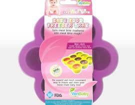 #29 untuk Create Print and Packaging Designs for Baby Food Freezer Tray oleh graphidesginer