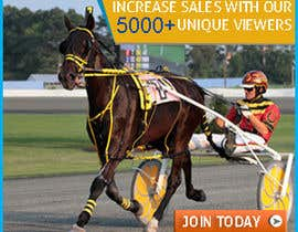"#9 untuk Harness racing banner ad design ""advertise with us"" oleh dgnGuru"