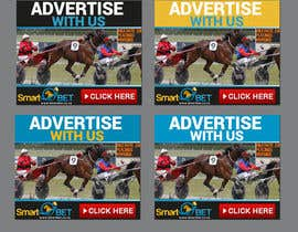 "#10 untuk Harness racing banner ad design ""advertise with us"" oleh SJADDesigns"