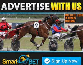 "#15 untuk Harness racing banner ad design ""advertise with us"" oleh SJADDesigns"