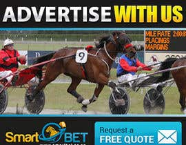 "#16 untuk Harness racing banner ad design ""advertise with us"" oleh SJADDesigns"