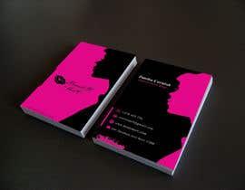 #89 untuk Makeup Artist Business Card Design oleh Nahidrahman19