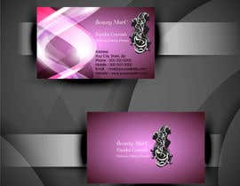 #98 untuk Makeup Artist Business Card Design oleh bluedesign1234