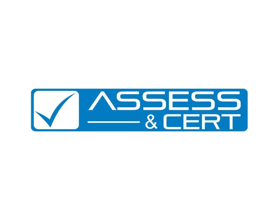Penyertaan Peraduan #130 untuk Logo For Company Called Assess and Cert