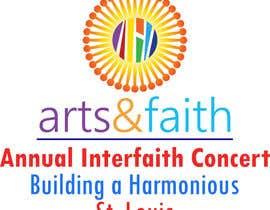 #200 untuk Arts & Faith St. Louis Interfaith Concert Logo oleh aniruddhadas43