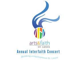 #196 untuk Arts & Faith St. Louis Interfaith Concert Logo oleh Maboy