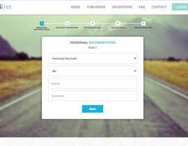 #13 for Design a SIGNUP FORM for us by Shantadeep