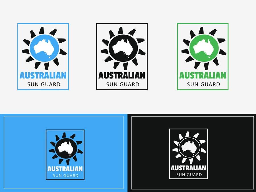 #102 for Design a Logo for Australian Sun Guard by pankaj86