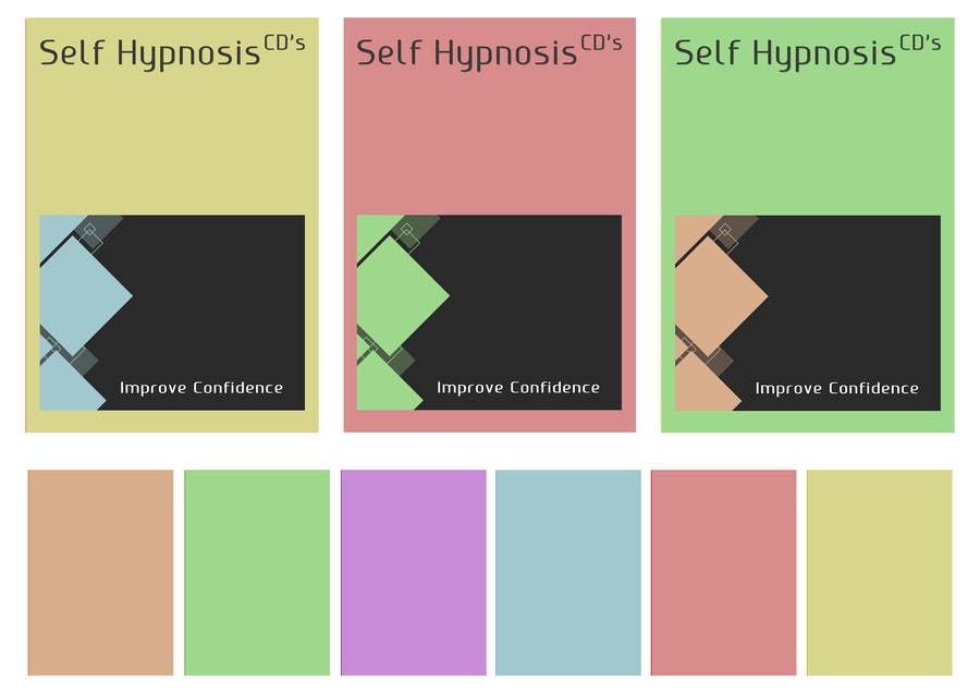 55accf2eb2f7 Contest Entry #3 for Create Print and Packaging Designs for Self Hypnosis  DVD set