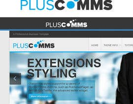 #55 para PlusComms Logo por digitalmind1
