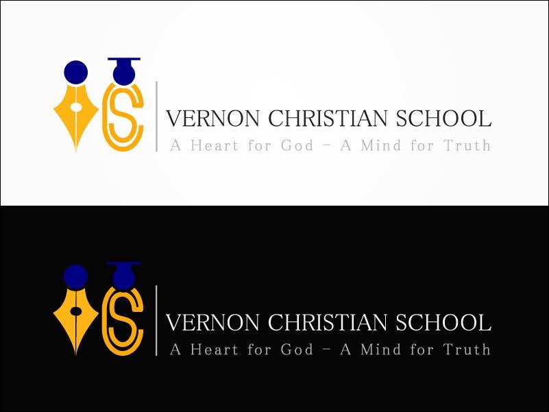 Kilpailutyö #27 kilpailussa Logo Design for Vernon Christian School