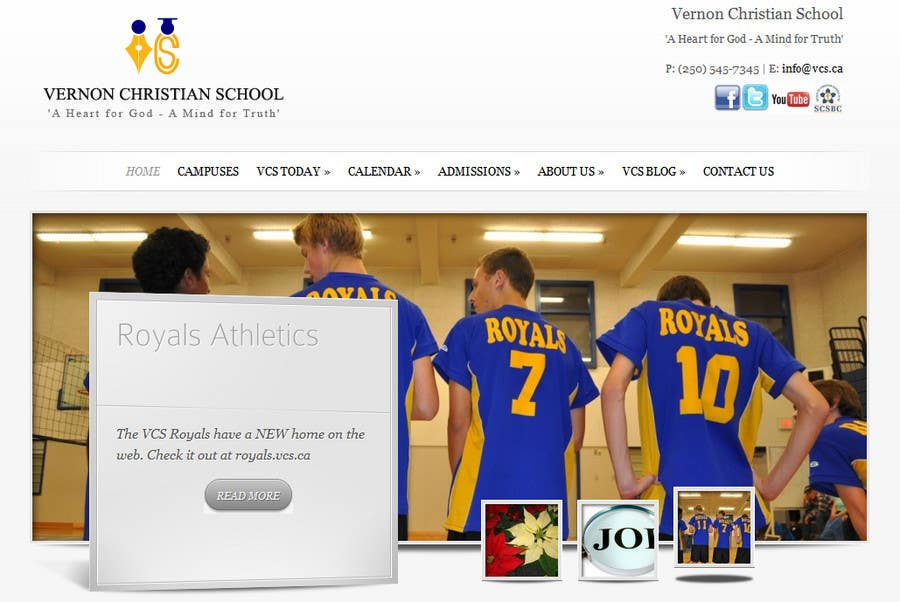 Konkurrenceindlæg #                                        59                                      for                                         Logo Design for Vernon Christian School