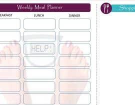 kopalgupta7 tarafından Design a Weekly Meal Planner için no 15