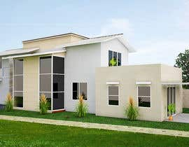 #10 for 3D Model and Paint my 2 Storey House. by adekolafarouk