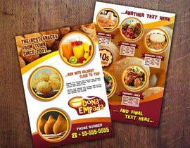 #25 untuk Design a Flyer for Snack and coffe shop oleh imagencreativajp