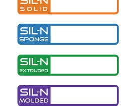 KarthikDev81 tarafından Design Logos for a Family of Product Line Brands for National Silicone için no 8