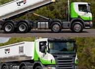 Graphic Design Kilpailutyö #174 kilpailuun Design our the colour scheme/artwork for our new trucks