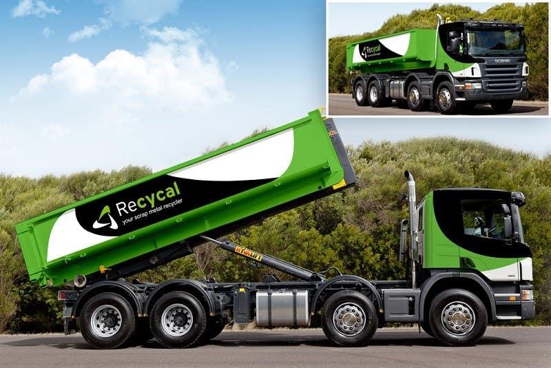 Kilpailutyö #48 kilpailussa Design our the colour scheme/artwork for our new trucks