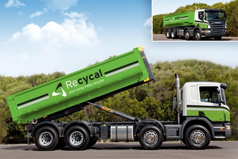Kilpailutyö #54 kilpailussa Design our the colour scheme/artwork for our new trucks