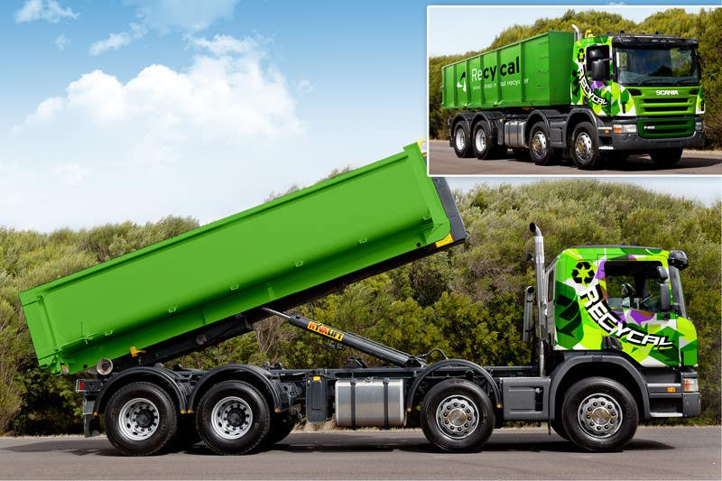 Kilpailutyö #180 kilpailussa Design our the colour scheme/artwork for our new trucks
