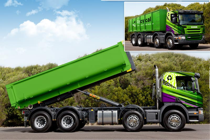 Kilpailutyö #184 kilpailussa Design our the colour scheme/artwork for our new trucks