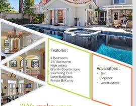 #51 untuk Design A Real Estate Flyer oleh JanvijShah