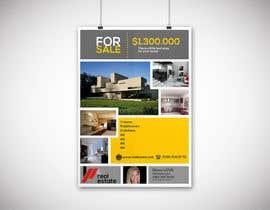 #59 untuk Design A Real Estate Flyer oleh effecanbaz