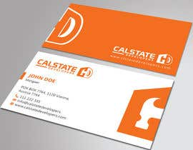 #56 untuk Design some Business Cards for Construction Company oleh HammyHS