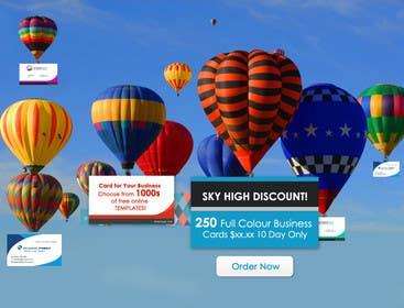 #25 untuk Design a Banner for marketing of a  print product (Air Balloon concept) oleh RainMQ