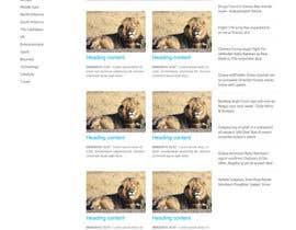 renanfer91 tarafından Responsive design for my news site için no 4