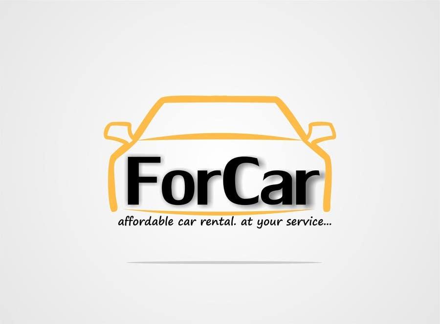 Entry 28 by hippodesigner for logo and visiting card for Car rental logo samples