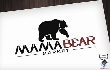 BDamian tarafından Mama Bear Market Logo Design için no 3