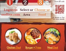 Mach5Systems tarafından Design a Flyer for a new online food ordering and delivery service için no 19