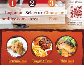 Mach5Systems tarafından Design a Flyer for a new online food ordering and delivery service için no 20