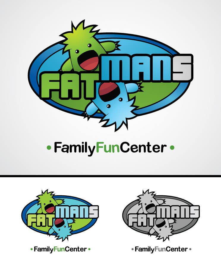 Penyertaan Peraduan #30 untuk Family Entertainment Center Logo and Mascot Contest