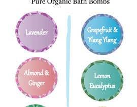 #7 untuk Bath Bomb Set Box Art oleh lilstar