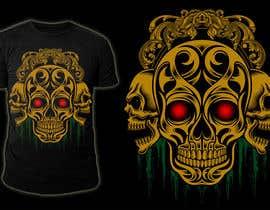 #96 untuk Design a Skull for t-shirt design oleh stevesartorio13