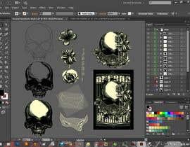#34 untuk Design a Skull for t-shirt design oleh secondsyndicate